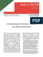 Processus Électoral en Guinée