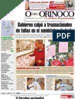 El Correo del Orinoco -428 domingo 7 de noviembre de 2010