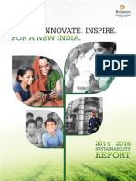 RIL's G3.1 Sustainability Report 2014-15