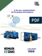 Manual SDMO J130K