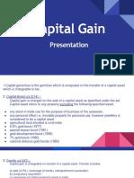 Capital Gain PPT