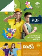 Folleto Campus Fundación Unicaja 2019 Vertical
