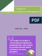 Lecture 2 Strategic HRM (1)