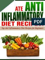 the anti inflammatory diet recipe