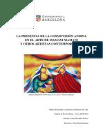 La Cosmovisión Andina en el arte de Mamani Mamani y otros artistas contemporáneos