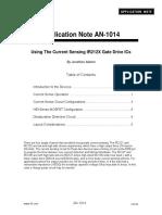 Infineon-Using the Current Sensing IR212x Gate Driver ICs-An-V01 00-En