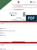Ouroboros - Coding Theory - Deneuville