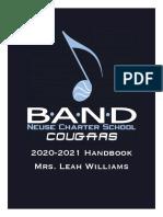 Band Handbook 2019