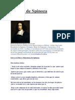 Baruch de Spinoza