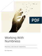 Working with Numbness