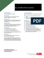 G172_EN ACS800 Winder or Inline Control Description and Agenda