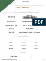 KidZania Ticket Booking_Mumbai_1 June2019