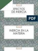 Efectos de Inercia