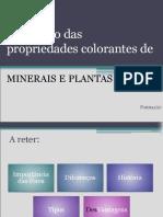 Propriedades colorantes 9100