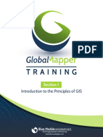 Section 1-Introduction to the Principles of GIS