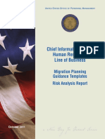MIGRATION Risk Analysis Report