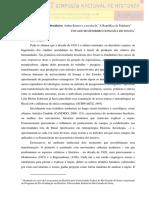 O espaço do Negro brasileiro_Arthur Ramos e a escrita de A República de Palmares