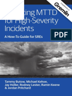 Reducing Mean Time to Detection (MTTD) for High-Severity Incidents!