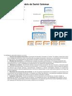 Mapa Conceptual Modelo de Daniel Goleman