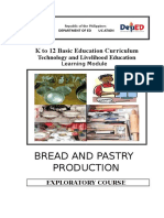 k to 12 Bread and Pastry Learning Module