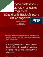 Rollin Kent - Que Dice La Fisiología Sobre Estilos Cognitivos; BUAP, México.