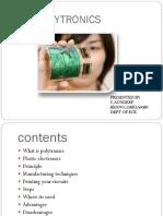 Polytronics presentation