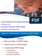 Module v. 1. Design of Conventional Wwtps