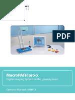 MM113-002 - MacroPATH Pro-x - Operator Manual-min