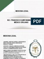 Intro med. Legal