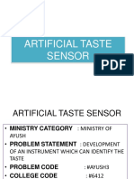Artificial Taste Sensor.Output