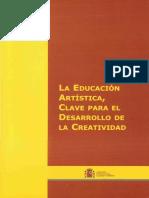 la educación artístic, clave para el desarrollo de la creatividad