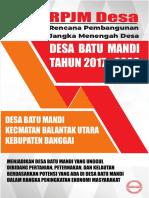 01 Rpjm Batu Mandi 2019