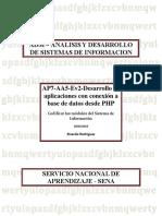 AP7-AA5-Ev2-Desarrollo de aplicaciones con conexión a base de datos desde PHP