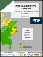 ESTADO DE LOS ECOSISTEMAS COLOMBIANOS