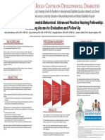 LEND Training in a Developmental-Behavioral  Advanced Practice Nursing Fellowship