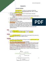 Clinical Genetics Concepts
