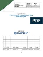 Specification Hyosung POSCO CSP