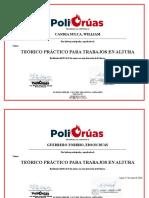 certificado POLIGRUAS-2018