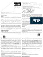 Ficha técnica Sertal compuesto