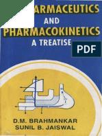 Biopharmaceutics and Pharmacokinetics-A Treatise Brahmankar