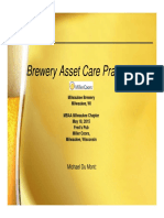 Brewery Asset Care Practices 45m Shared