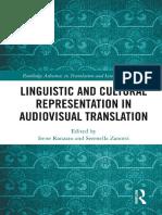 Linguistic and Cultural Representation