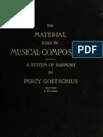 Material Used in Mu 1895 Go Et