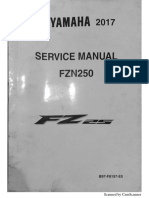 Service Manual FZ25/Fazer 250 2017