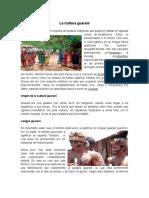 La Cultura Guaraní