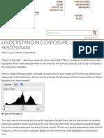 Understanding Exposure Using Histogram