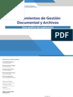 Lineamientos de Gestión Documental y Archivo.