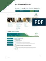 Step by Step Guide - Customer Registration v1.0
