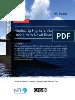 Replacing HEU in Naval Reactors Report FINAL
