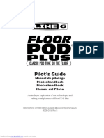 Manual FLOORPODPLUS Line6